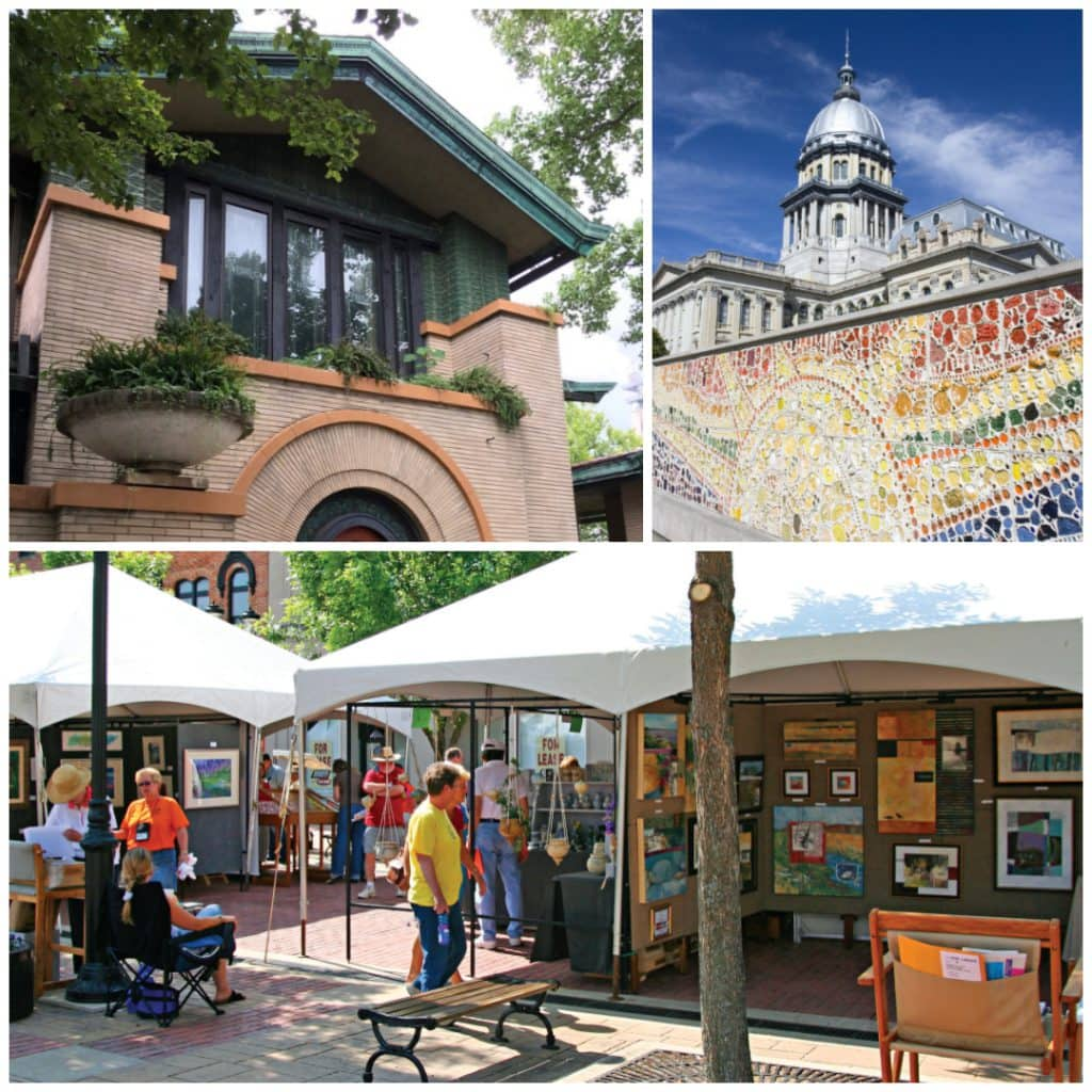 Art and architecture in Springfield, IL