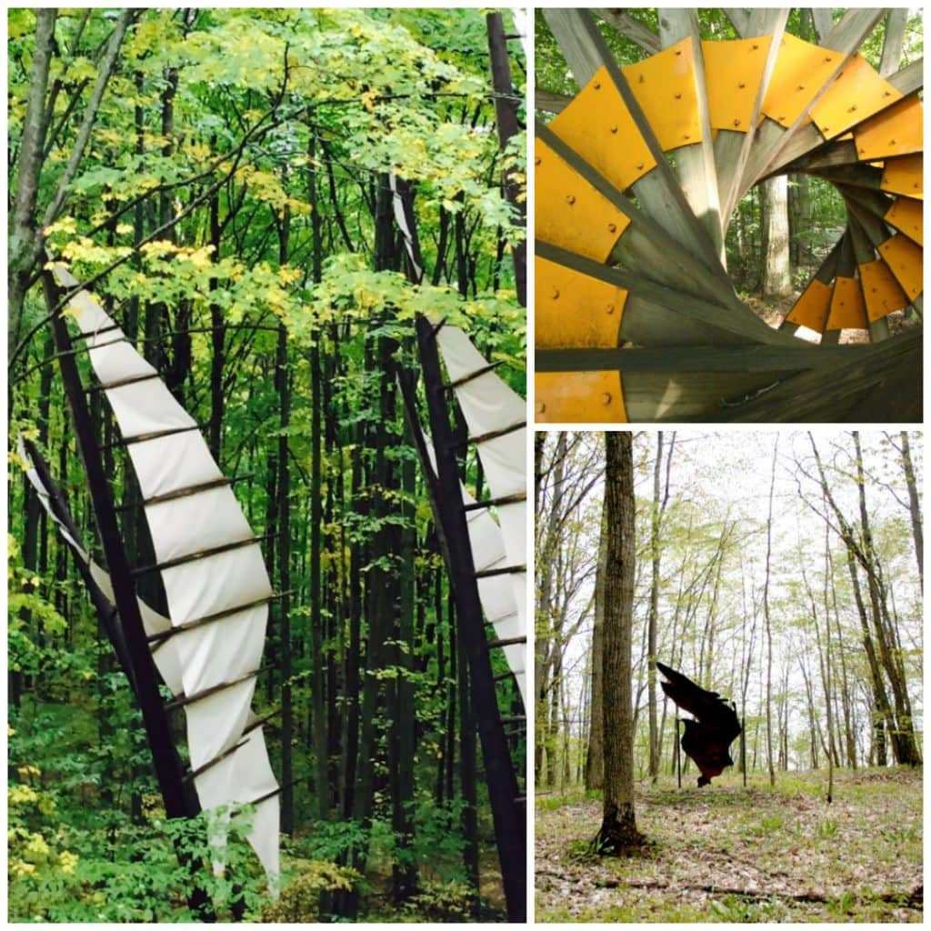 Michigan Legacy Art Park in Thompsonville, MI