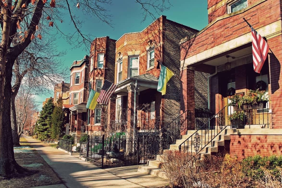 Apartment in Ukrainian Village, Chicago.