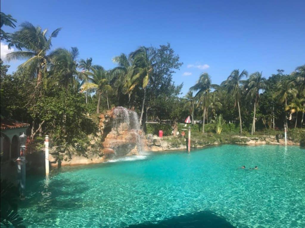 Venetian pool in Miami, Florida