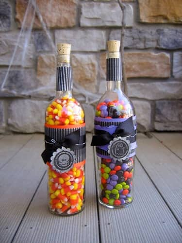 8 crafty ideas for upcycling wine bottles the storage space for How to decorate a wine bottle for a gift