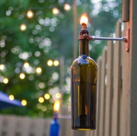 8 Crafty Ideas For Upcycling Wine Bottles The Storage Space