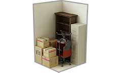 2 foot by 5 foot Storage Unit
