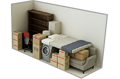 4 foot by 13 foot Storage Unit