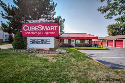 Entrace To CubeSmart At 10303 East Warren Avenue