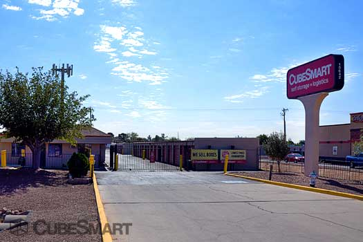 Cubesmart Self Storage In El Paso