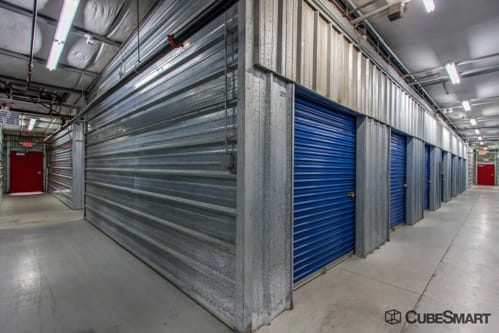 Interior self storage units at 7370 W Cheyenne Ave