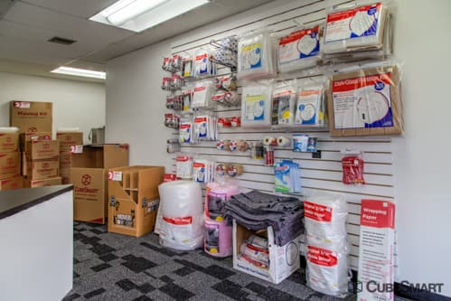 Moving supplies sold at CubeSmart in Dania, FL