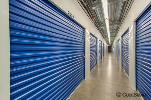 Interior self storage units at 533 East Dunlap Street