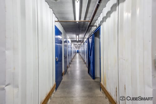 Interior self storage units at 3265 East Speedway