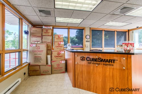CubeSmart Self Storage office in Gales Ferry, CT