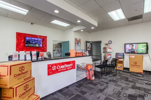 CubeSmart Self Storage office in Cape Coral, FL