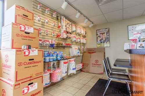Moving supplies sold at CubeSmart in Plainfield, IL