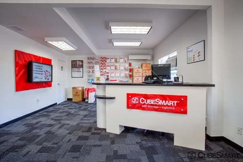 CubeSmart Self Storage office in Lewisville, TX
