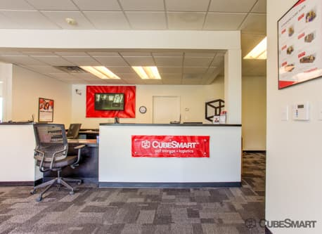 Workspace in CubeSmart office at 3495 Lawrenceville Suwanee Road