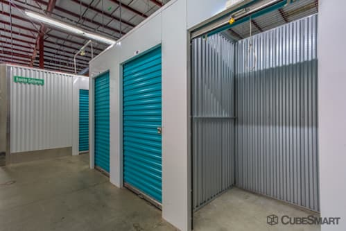 Interior self storage units at 28401 Rancho California Road