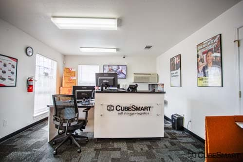 CubeSmart Self Storage office in Fort Worth, TX