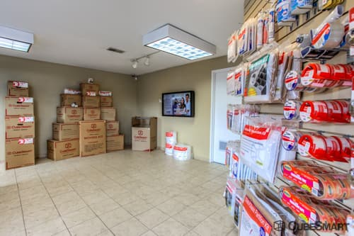 Moving supplies sold at CubeSmart in Hilliard, OH