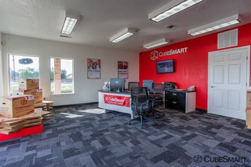 CubeSmart Self Storage office in Little Elm, TX