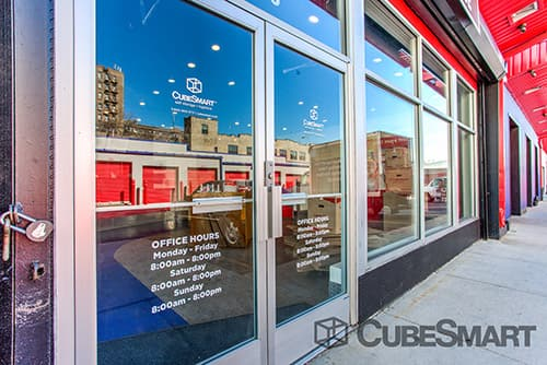 Entrace to CubeSmart at 1376 Cromwell Avenue