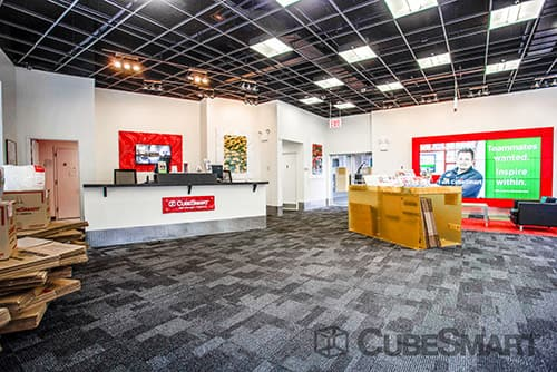 CubeSmart Self Storage office in Long Island City, NY