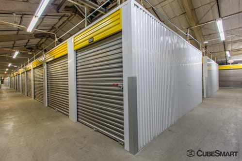 Interior self storage units at 1170 Atlantic Avenue