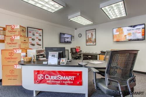 CubeSmart Self Storage office in Exeter, RI