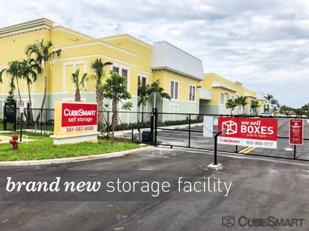 A CubeSmart Facility Photo In Lantana, FL