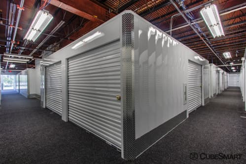 Interior self storage units at 4 Research Place