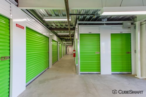 Interior self storage units at 1919 East Ray Road
