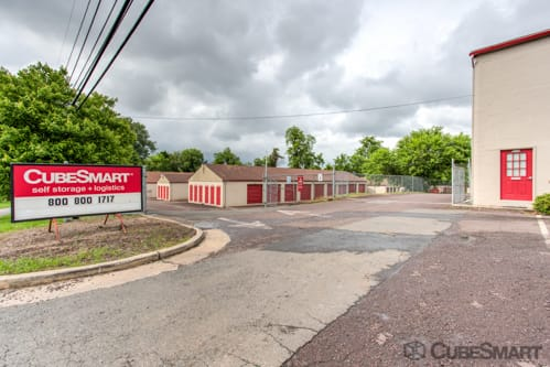 Entrace to CubeSmart at 510 Germanna Highway