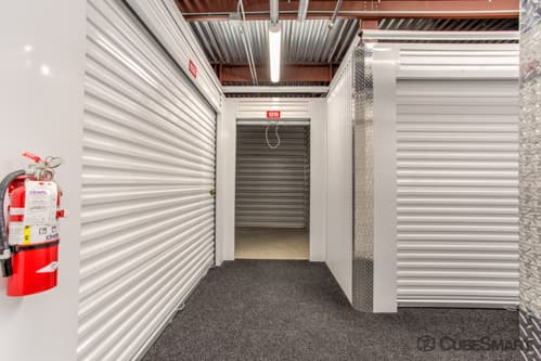 Interior self storage units at 6130 East Ben White Boulevard