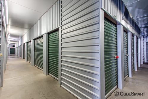 Interior self storage units at 1200 West Mariposa Road