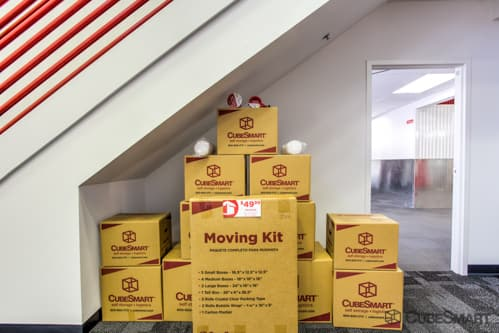 Moving boxes sold at CubeSmart in Marietta, GA
