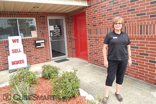 Entrace to CubeSmart at 9109 Hughes Ranch Road
