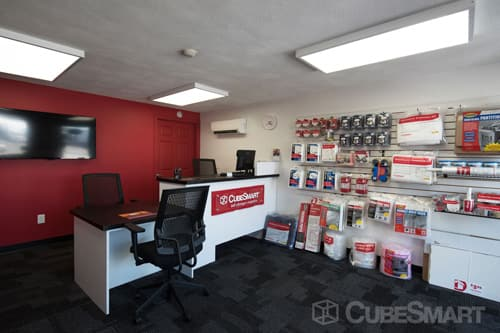 CubeSmart Self Storage office in Pawtucket, RI