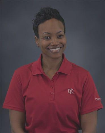 Smiling CubeSmart employee